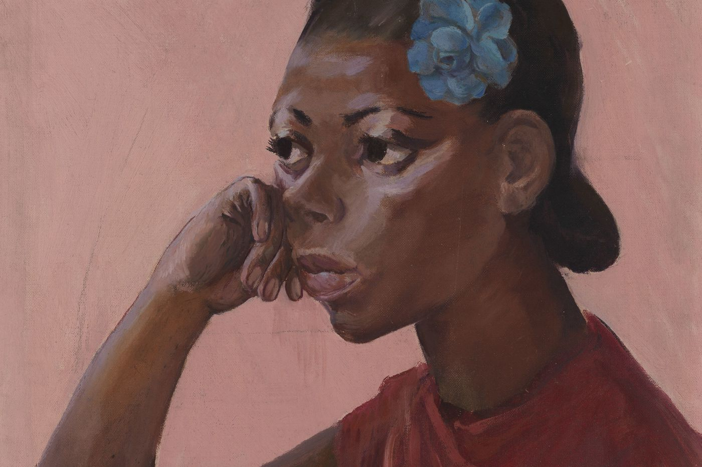 Constance Clayton's huge gift to PAFA of works by black artists is now on display