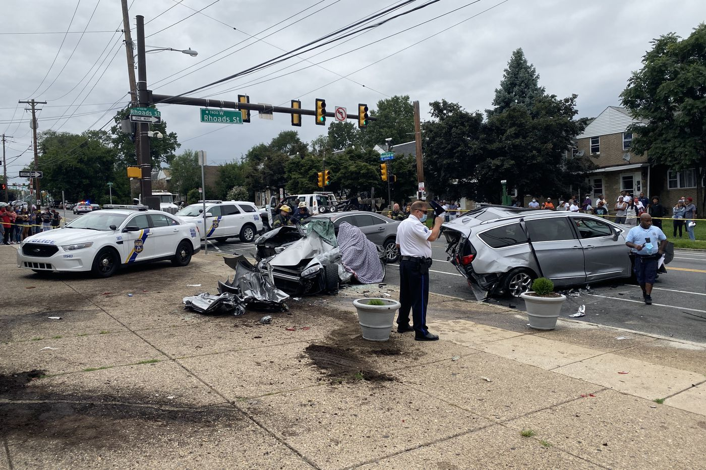 Driver who fled crash that killed 1, injured 6 in West Philly located by police, described as a juvenile
