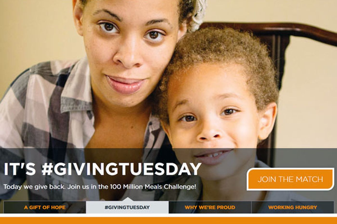 Giving Tuesday a day to give back