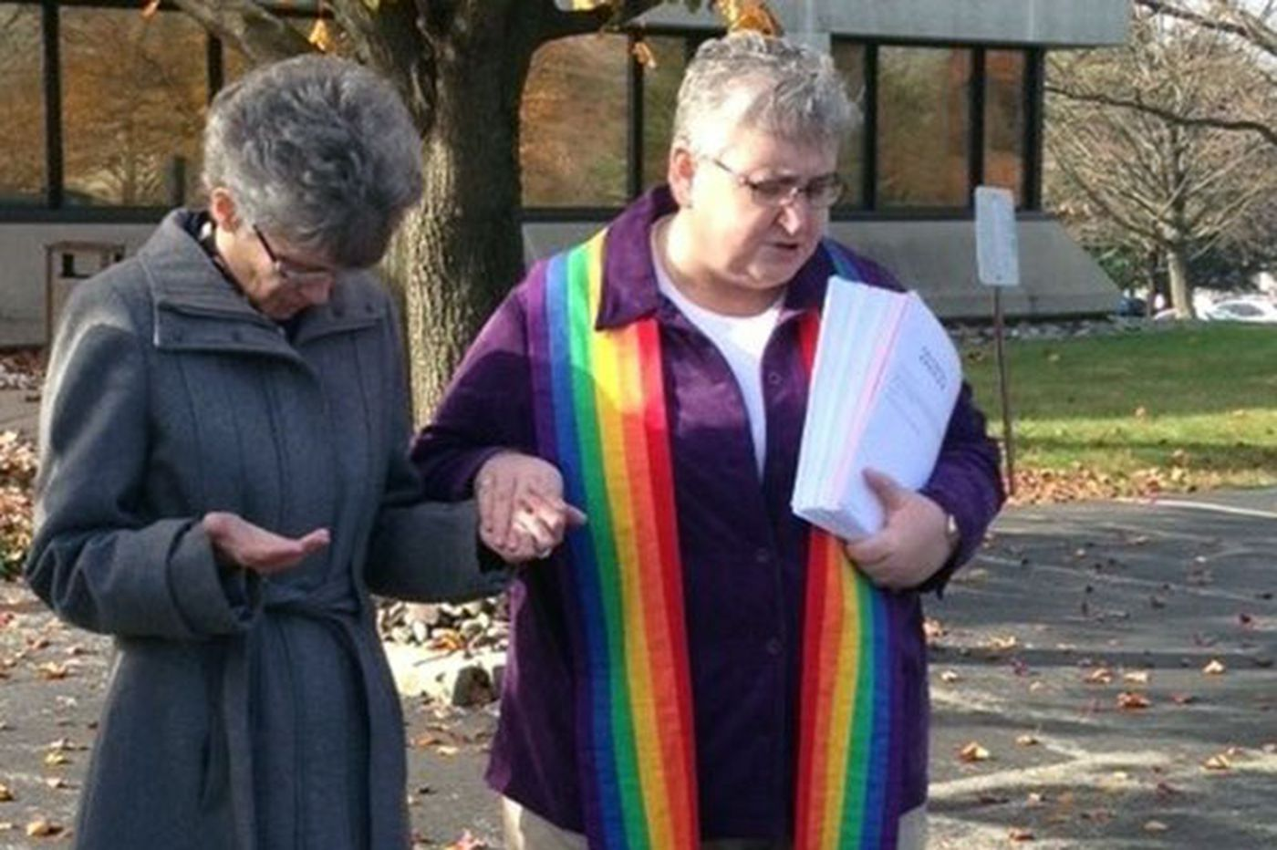 Methodist bishop given gay-rights petition signed by 25,000