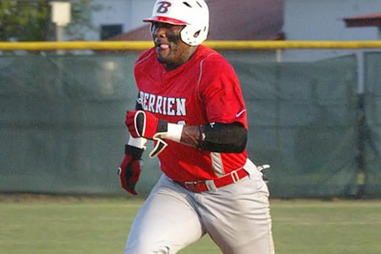 The Phillies drafted Berrien County (Ga.) High School outfielder Larry Greene. (Adam MacDonald/The Valdosta Daily Times)