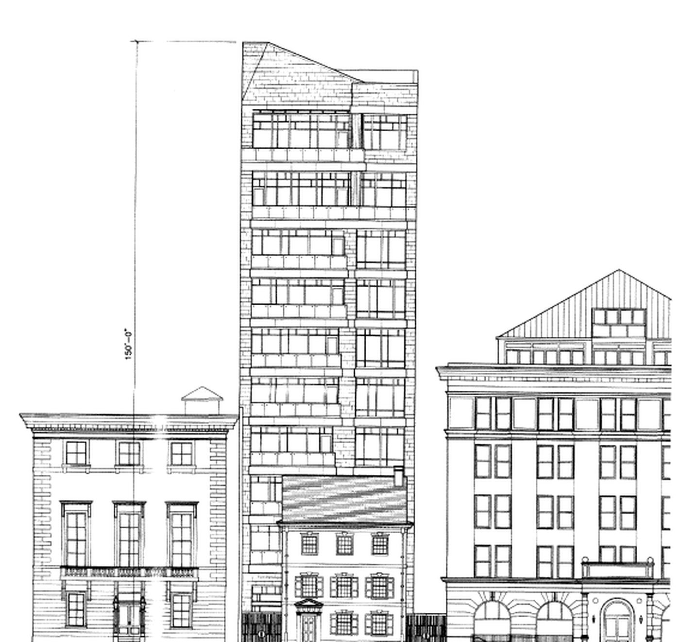 Society Hill Neighbors Fight Latest Proposal For Condo