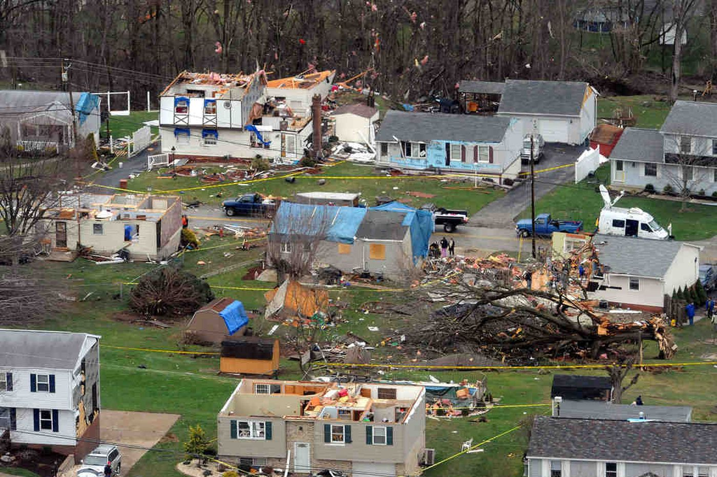 Pennsylvania has already seen yearly average of tornadoes