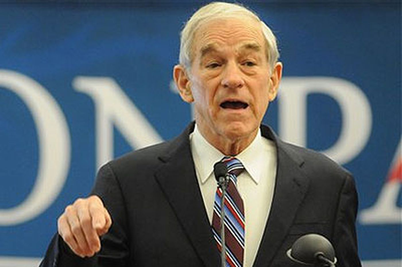 Philadelphia rain can't dampen the enthusiasm at a Ron Paul rally