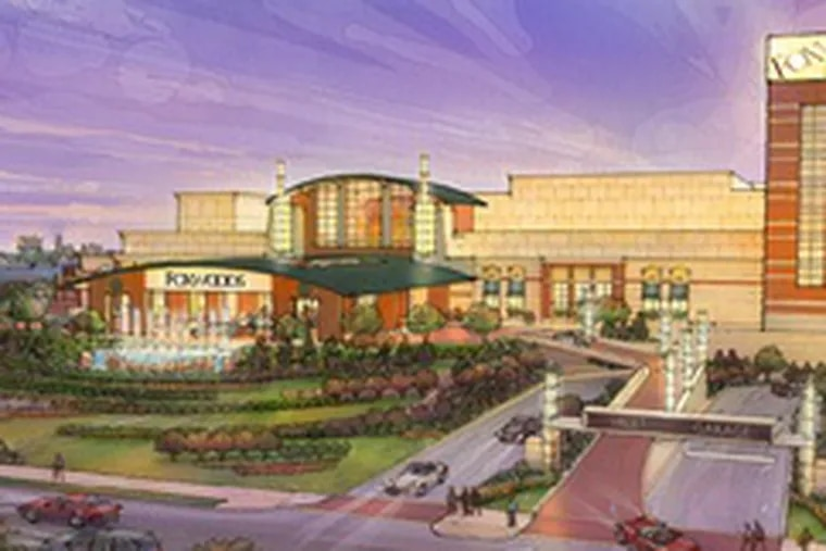 of the Foxwoods casino planned for Columbus Boulevard.