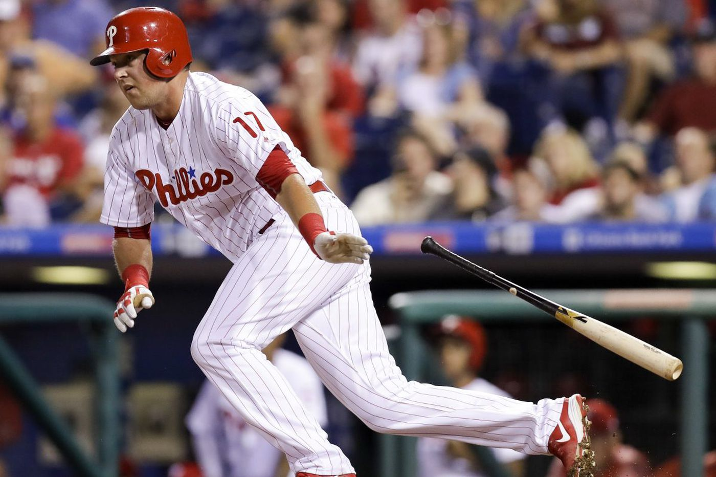 Like Chase Utley, Phillies rookie Rhys Hoskins may need time to shine | Marcus Hayes