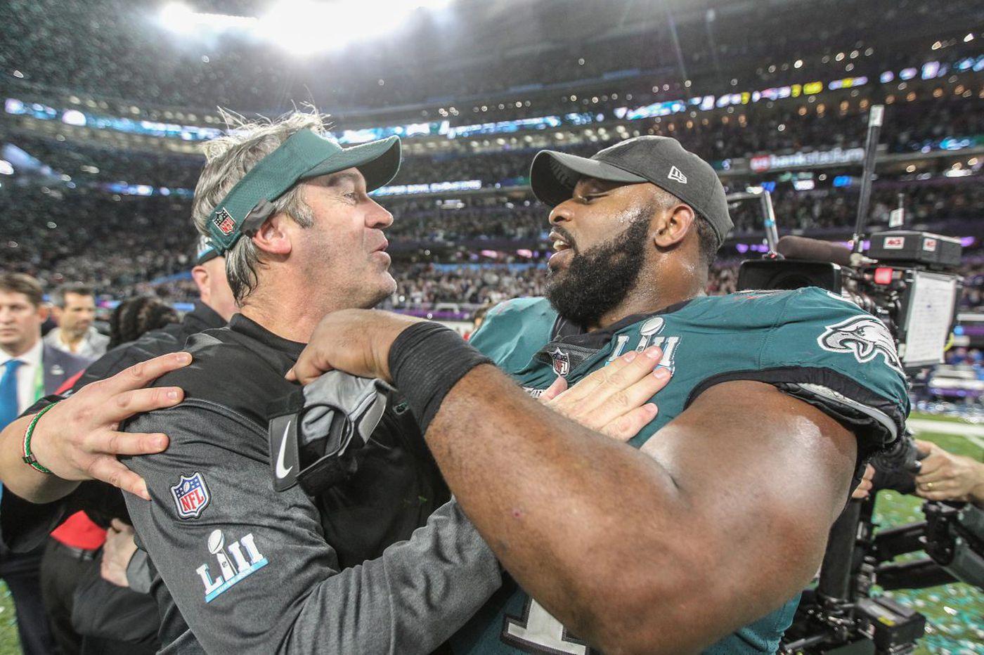 Doug Pederson's Super Bowl postgame speech | Marcus Hayes