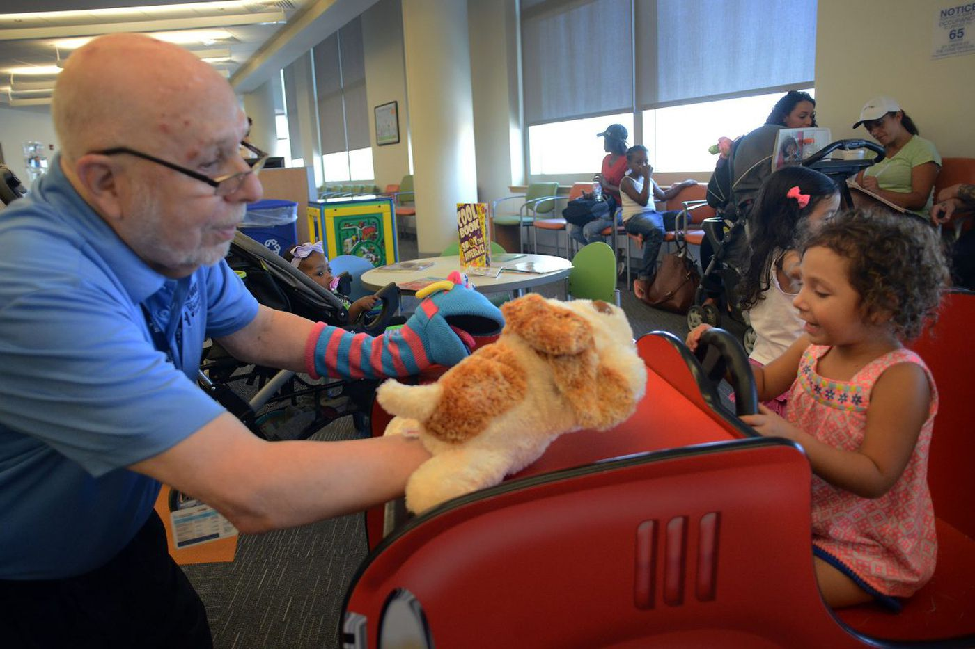 How seniors with dementia and kids at CHOP are helping each other