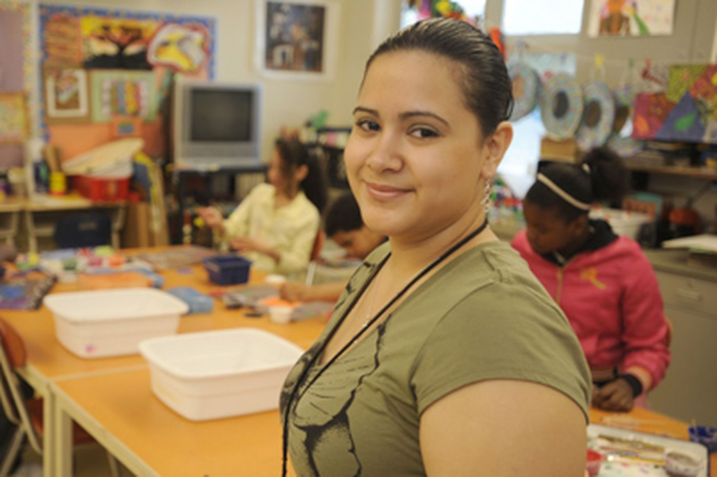 Camden's Teacher of the Year uses art to engage students in learning