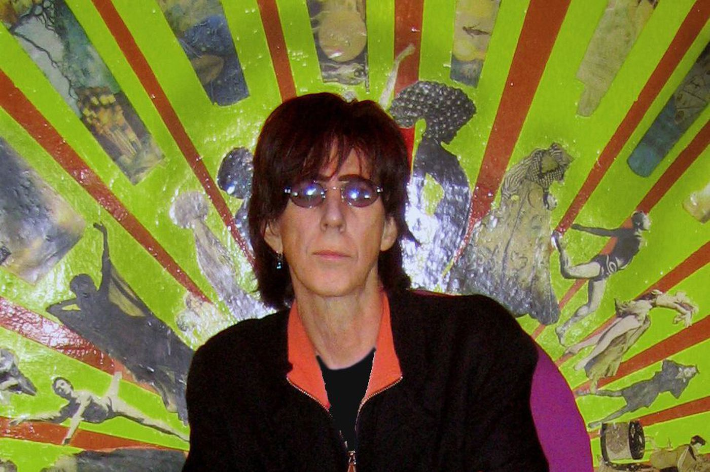 He's a rock star, he's a painter: Ric Ocasek of The Cars brings his visual art to King of Prussia