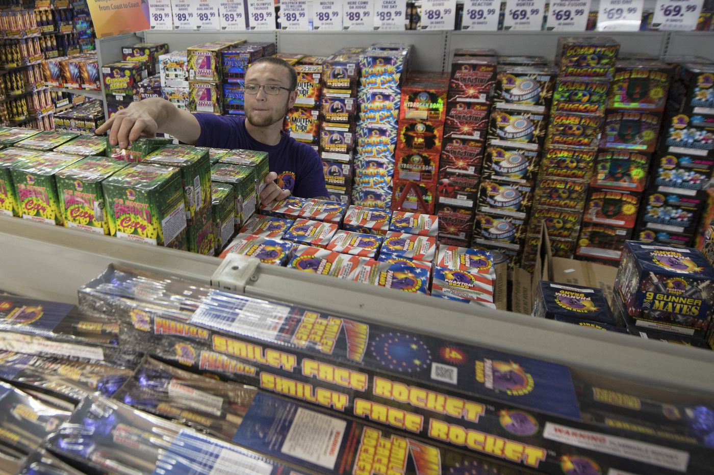 Fireworks sales are booming in Pennsylvania thanks to a change in the law