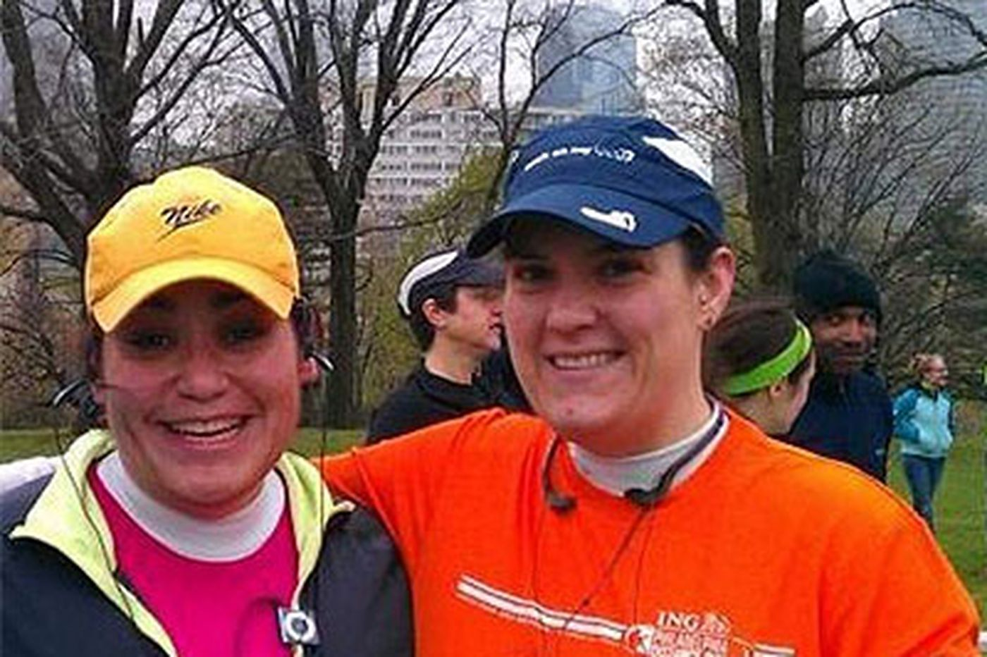Former classmates find common bond through running
