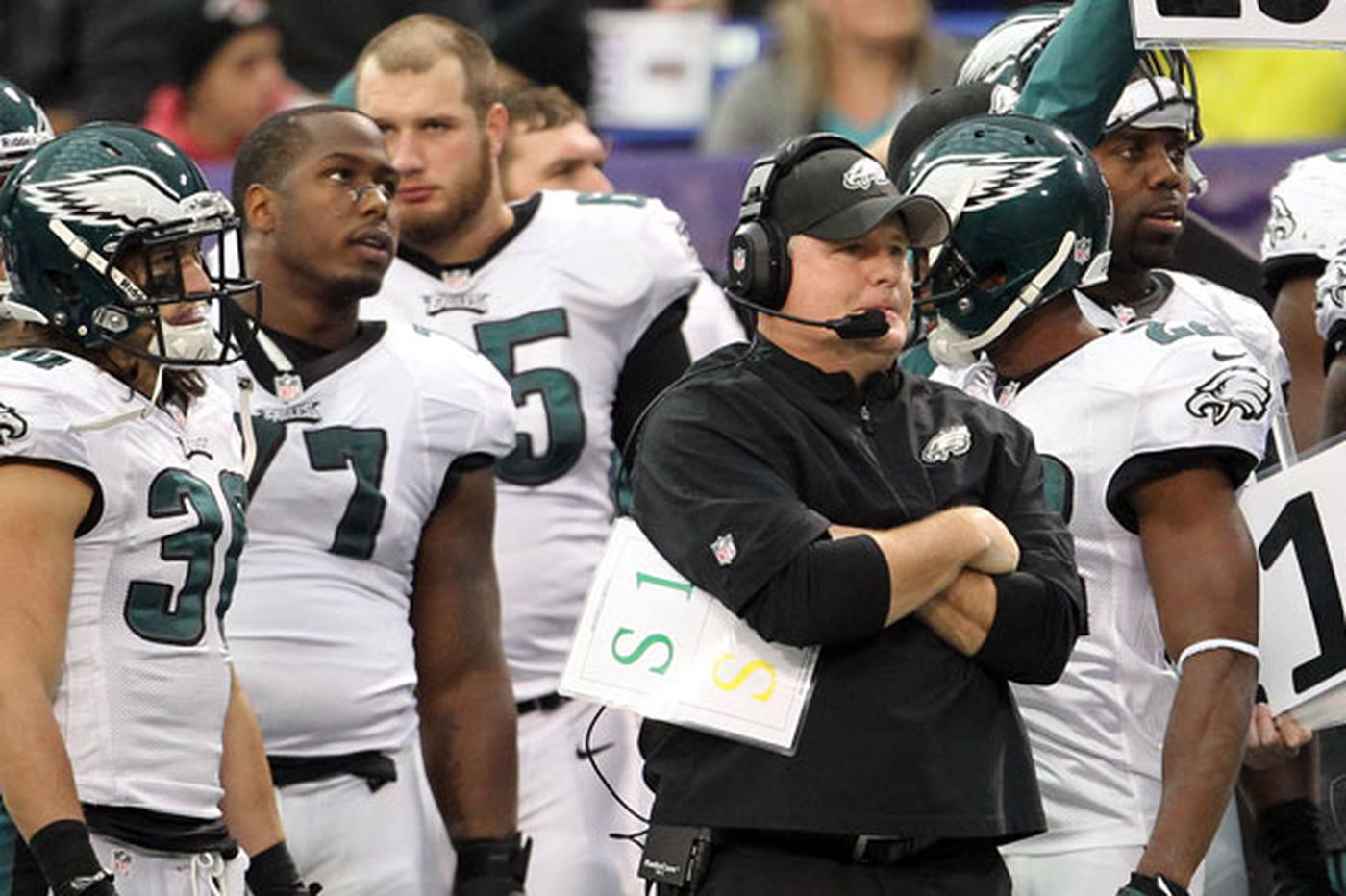 Eagles still flawed, but they're also lucky