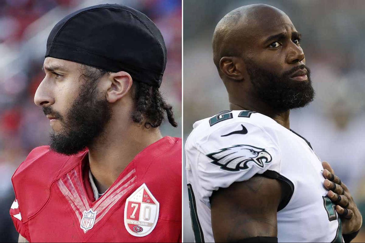Colin Kaepernick and Eagles' Malcolm Jenkins, at odds, serve the greatest good | Marcus Hayes