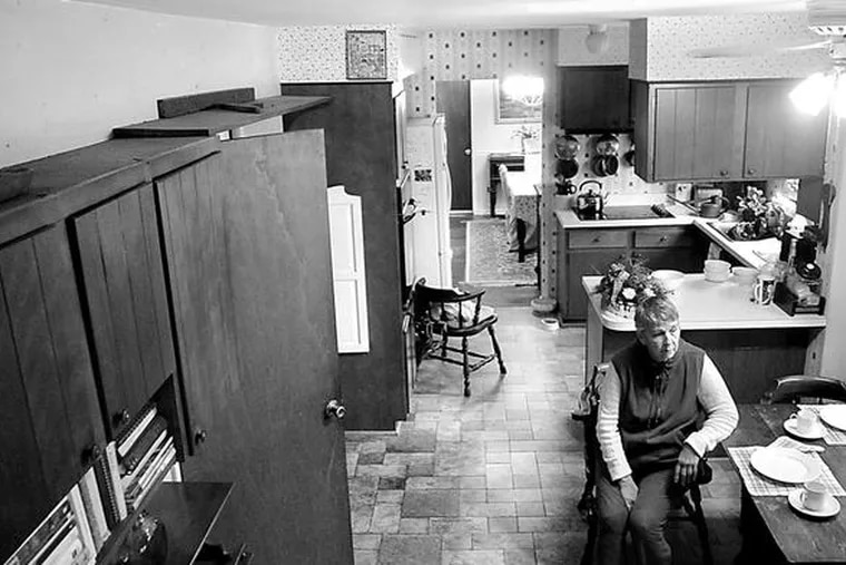 June Paterson, 76, wants to sell her Concord Township house, but the downturn has left her in limbo for more than a year, unable to raise the cash to move to a retirement community and tired of living in a house dressed to sell.