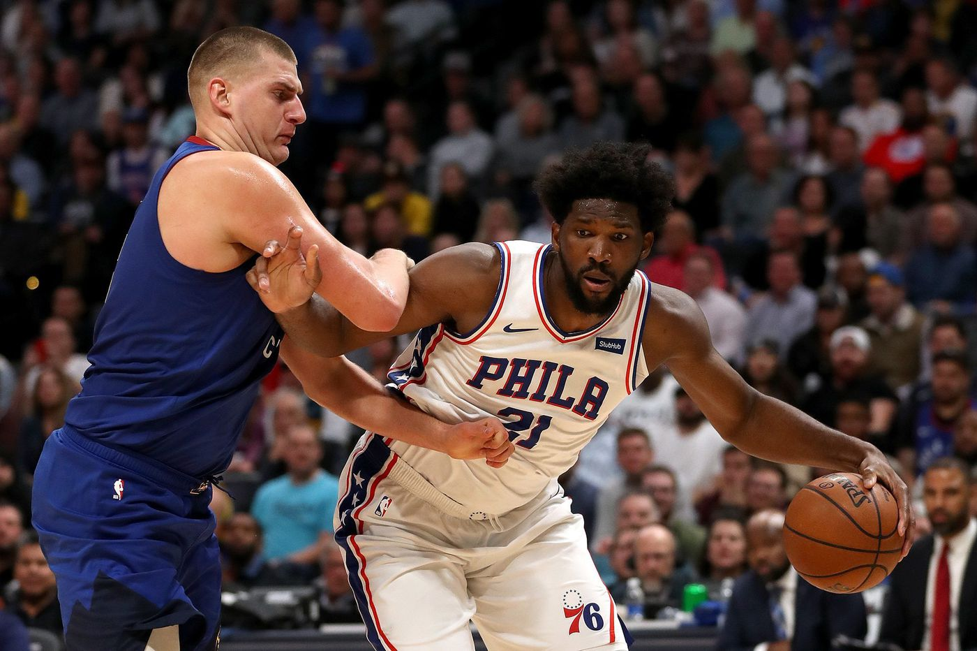 NBA report states Joel Embiid was actually fouled by Nikola Jokic with .9 of a second left