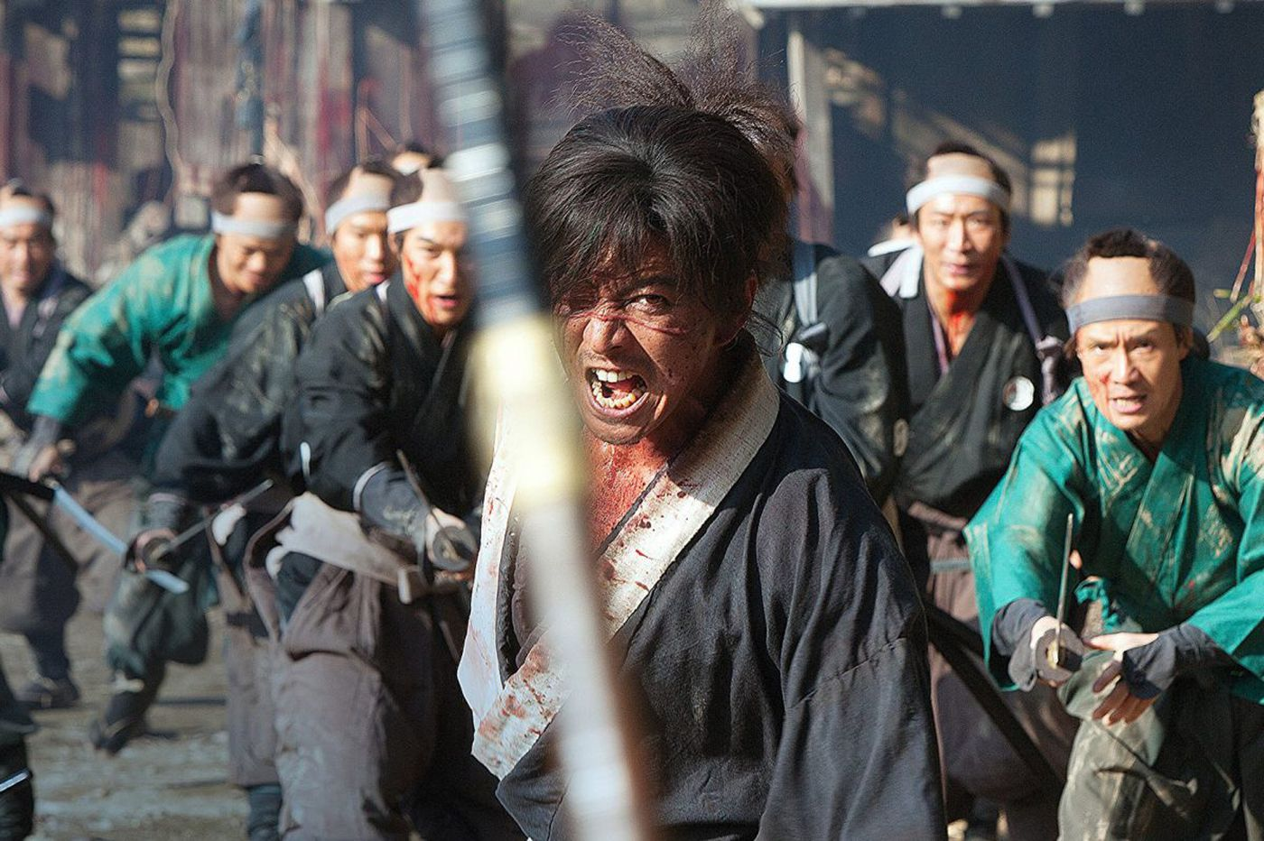 'Blade of the Immortal': Takashi Miike's zombie-samurai gorefest could use some cutting