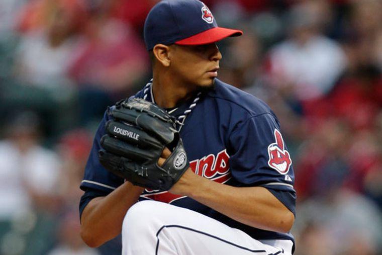 Carlos Carrasco Cleveland Indians Baseball Player Jersey