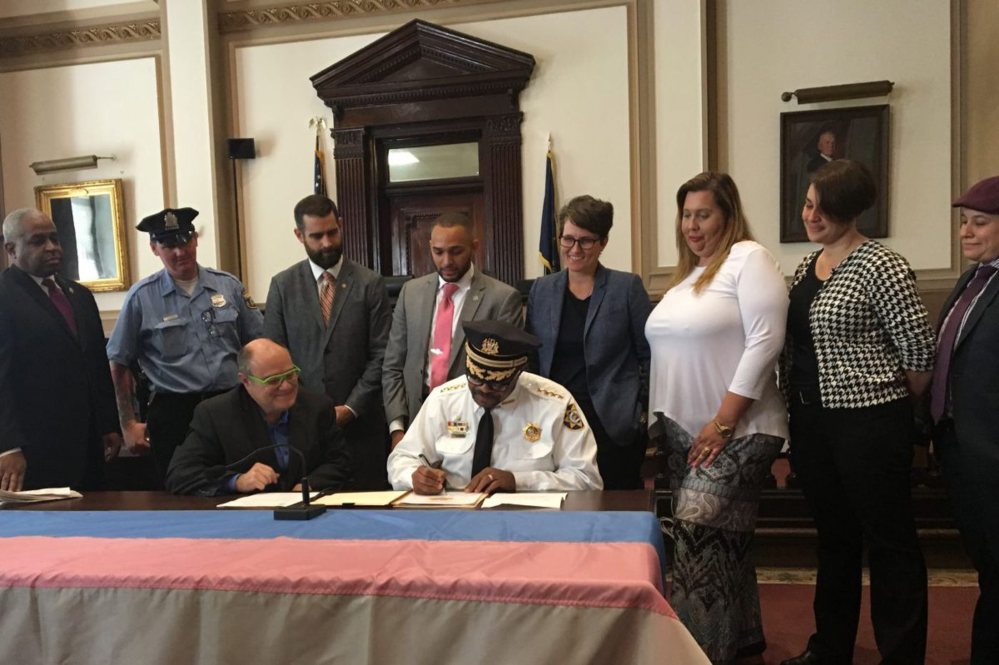 Guidelines for treating transgender people issued by Philly sheriff