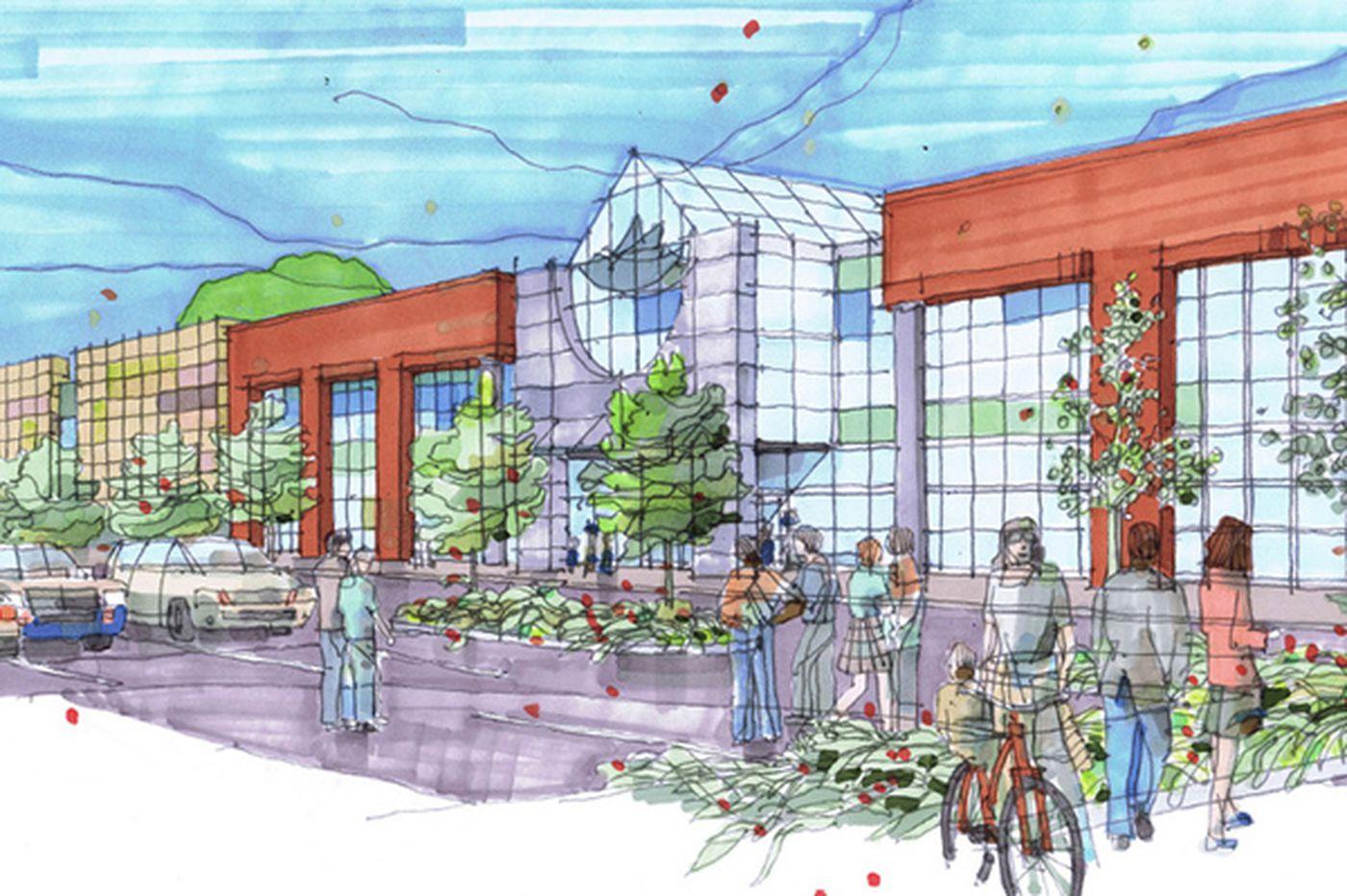 Plans to transform underperforming Burlington mall