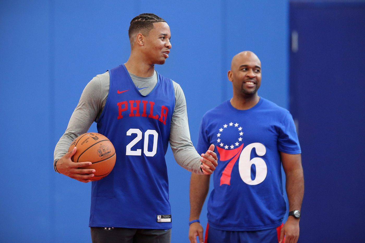 Sixers' Markelle Fultz 'can't wait' for season to start; Joel Embiid is a sneaker 'free agent'