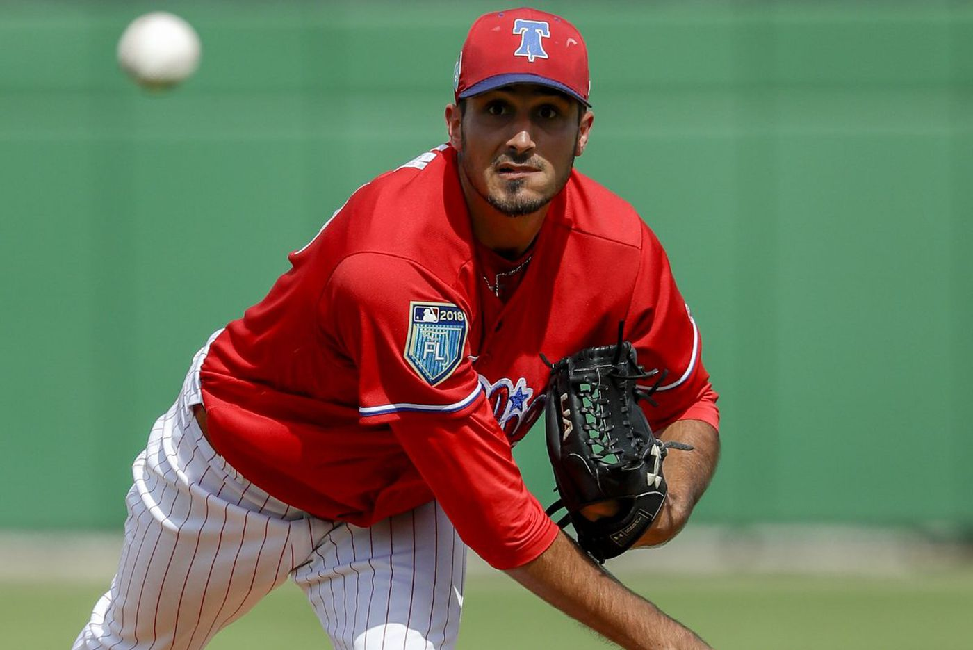 Phillies' Zach Eflin using more aggressive approach to his advantage