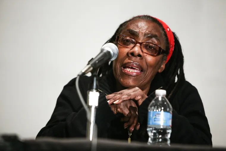 Ramona Africa, the last survivor of the MOVE bombing, has been hospitalized.