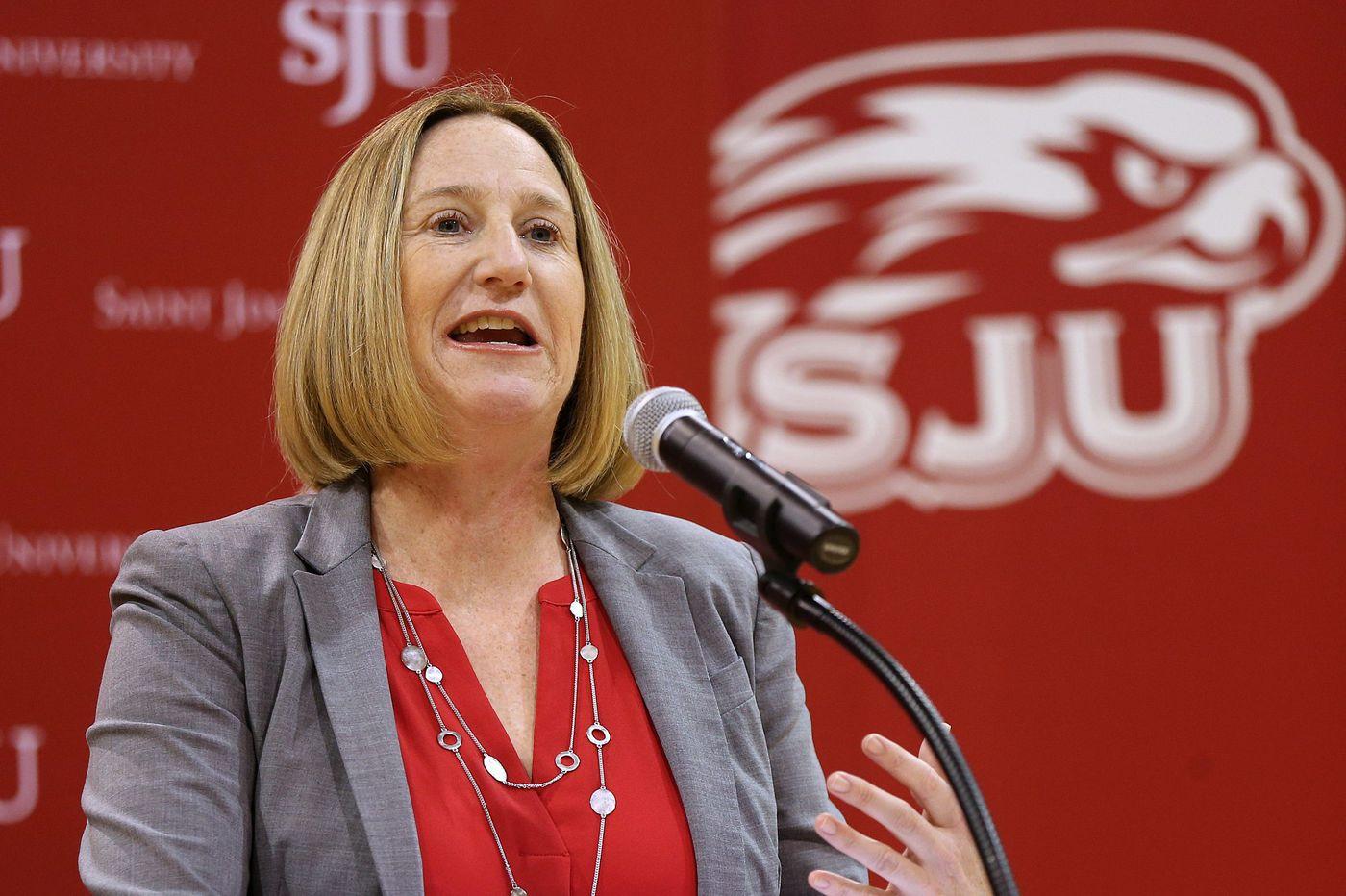 Saint Joseph's athletic director Jill Bodensteiner starts sports podcast