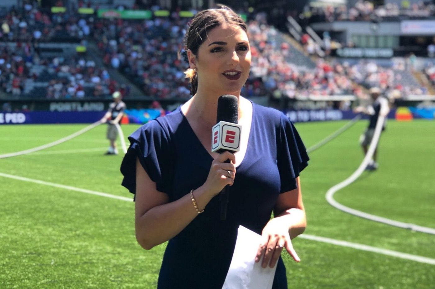 Union's TV host Marisa Pilla is latest Philly-area sports broadcaster to reach national stage, as NWSL and MLS
