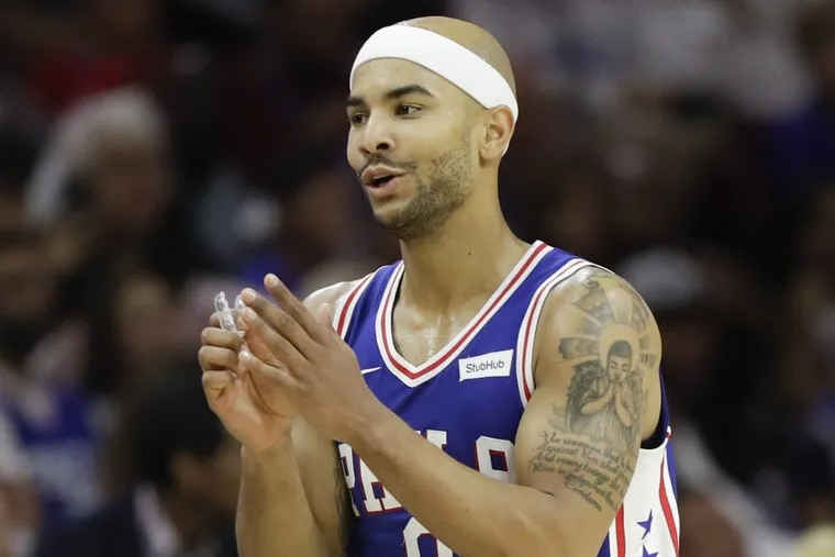 Philadelphia 76ers guard Jerryd Bayless has been sidelined the past six games due to a bruised left wrist.