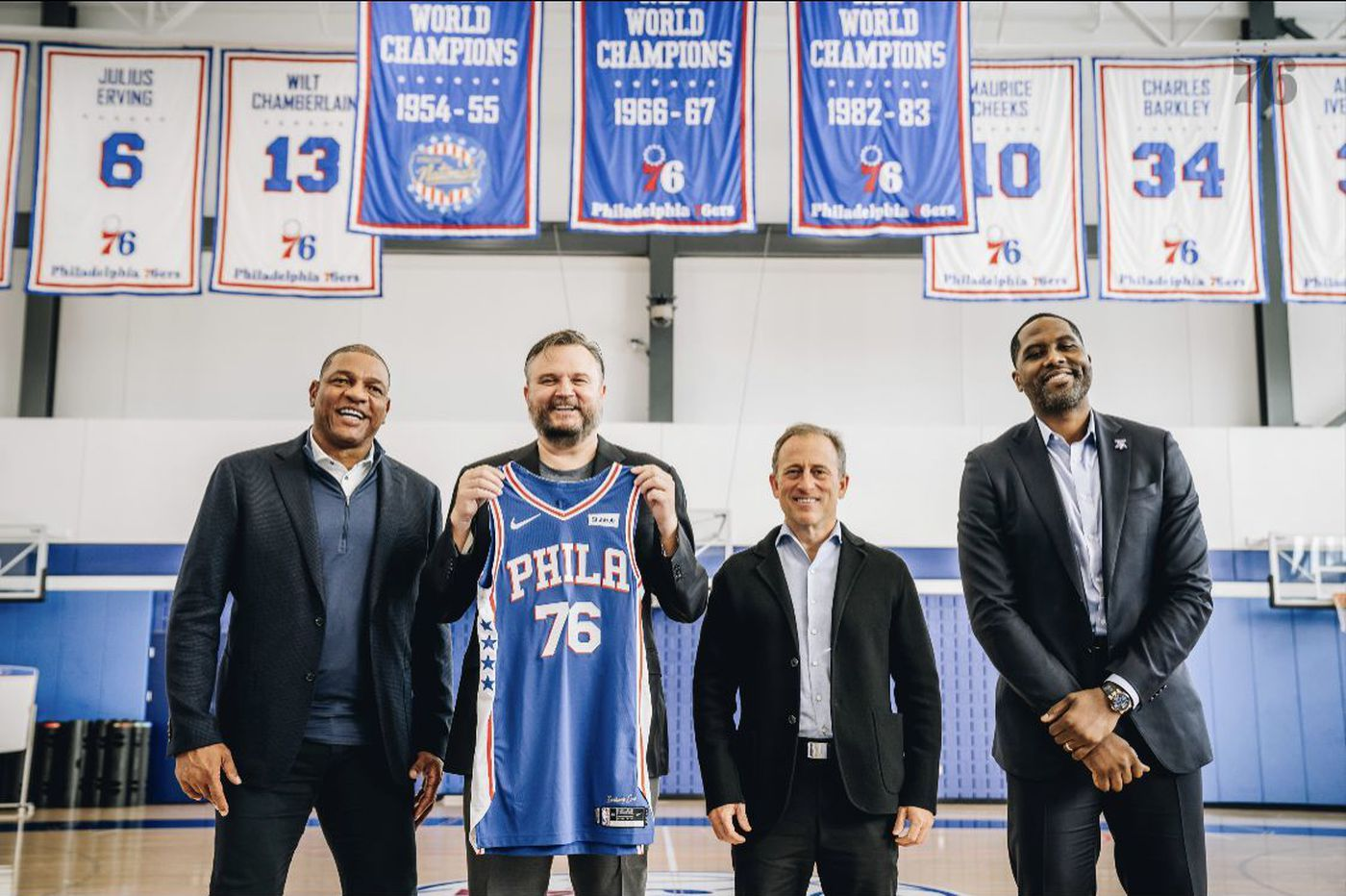 In his first day on the job, Daryl Morey showed why the Sixers hired him | David Murphy
