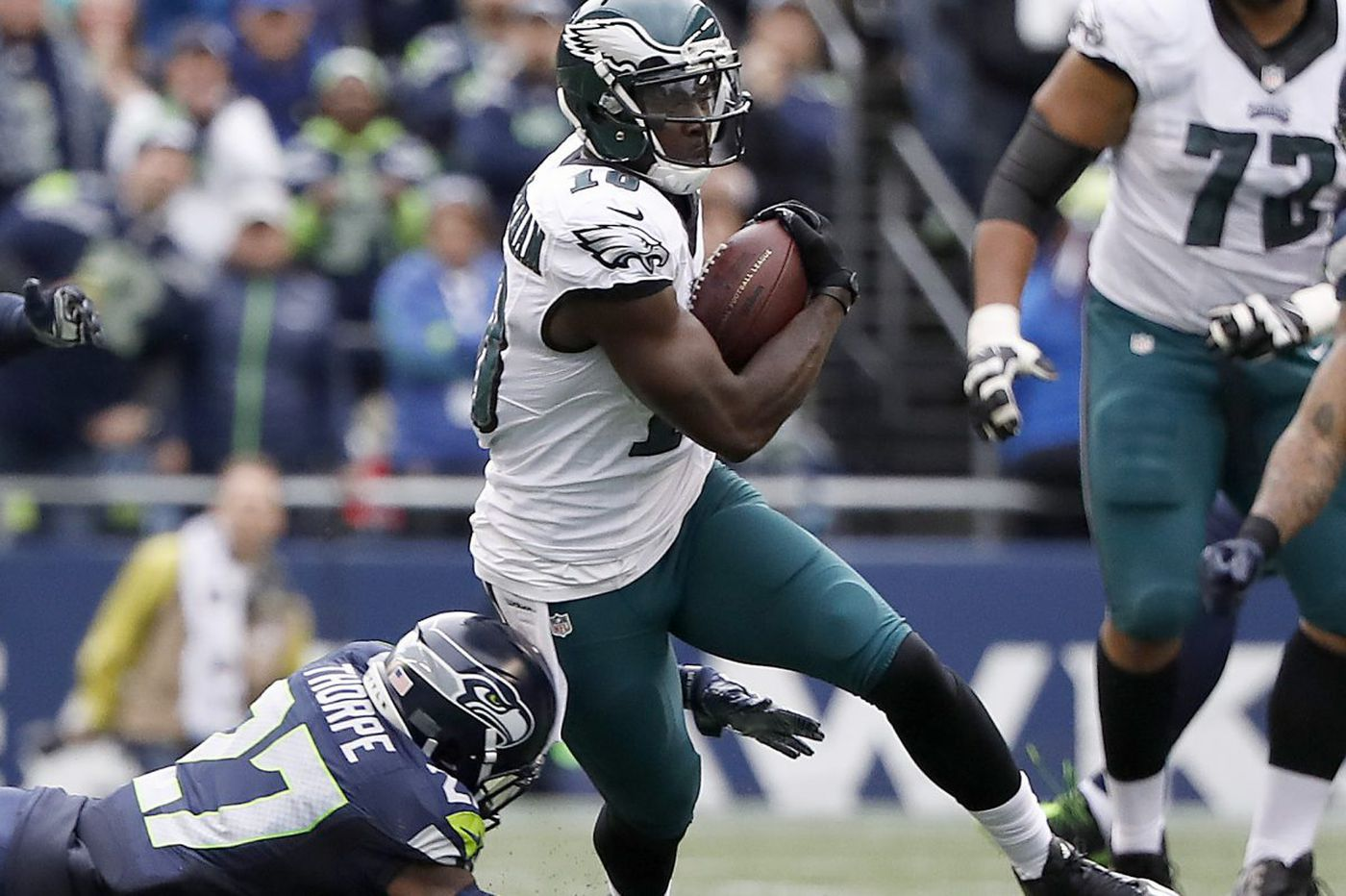 A year later, Eagles hoping they've learned how to thrive in Seahawks' nest