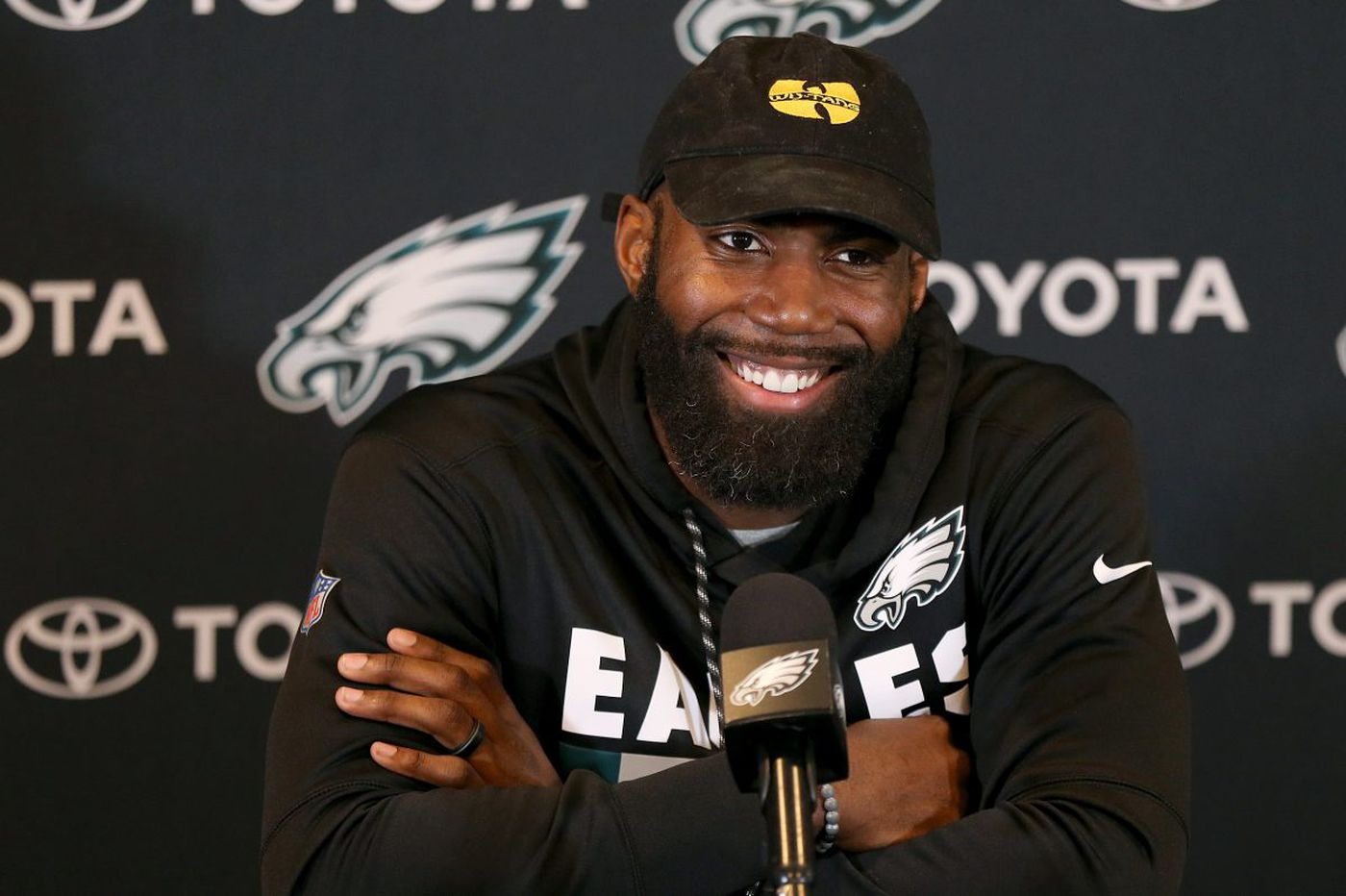 Eagles' Malcolm Jenkins: seems authorities 'are trying to make an example' out of Michael Bennett