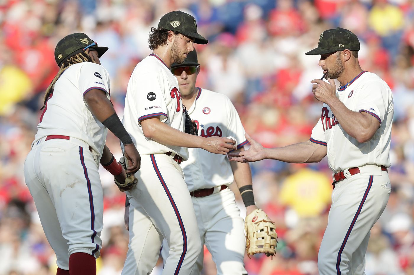 Phillies need a lot more than ace Aaron Nola's return to form to fix their rotation | Bob Brookover