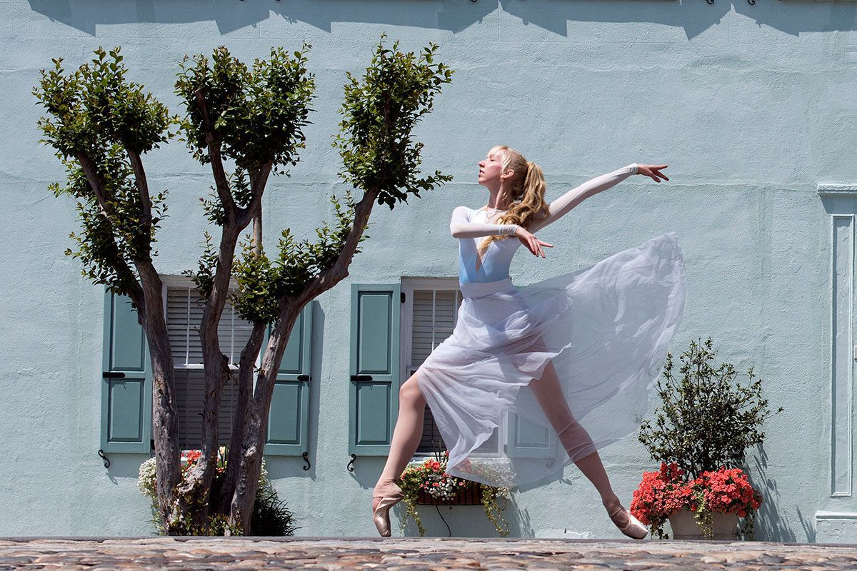 Too-tall ballerina finds a new job with a company that highlights diversity
