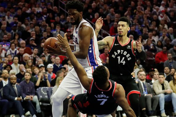 Joel Embiid, Ben Simmons lead Sixers to win over shorthanded Raptors