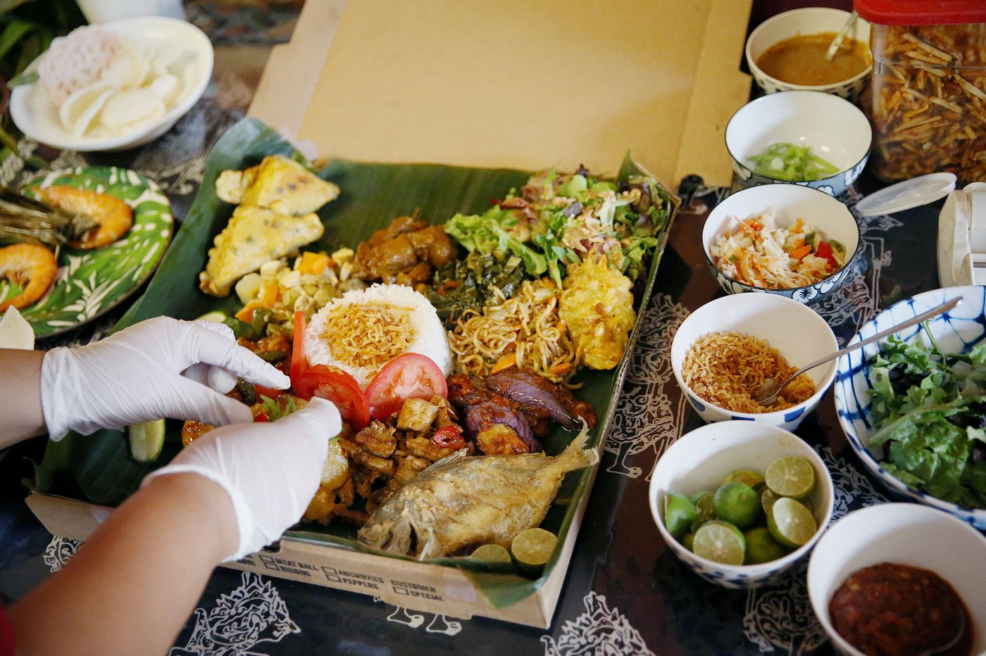 Hardena packs a treasure of Indonesian flavors into a box