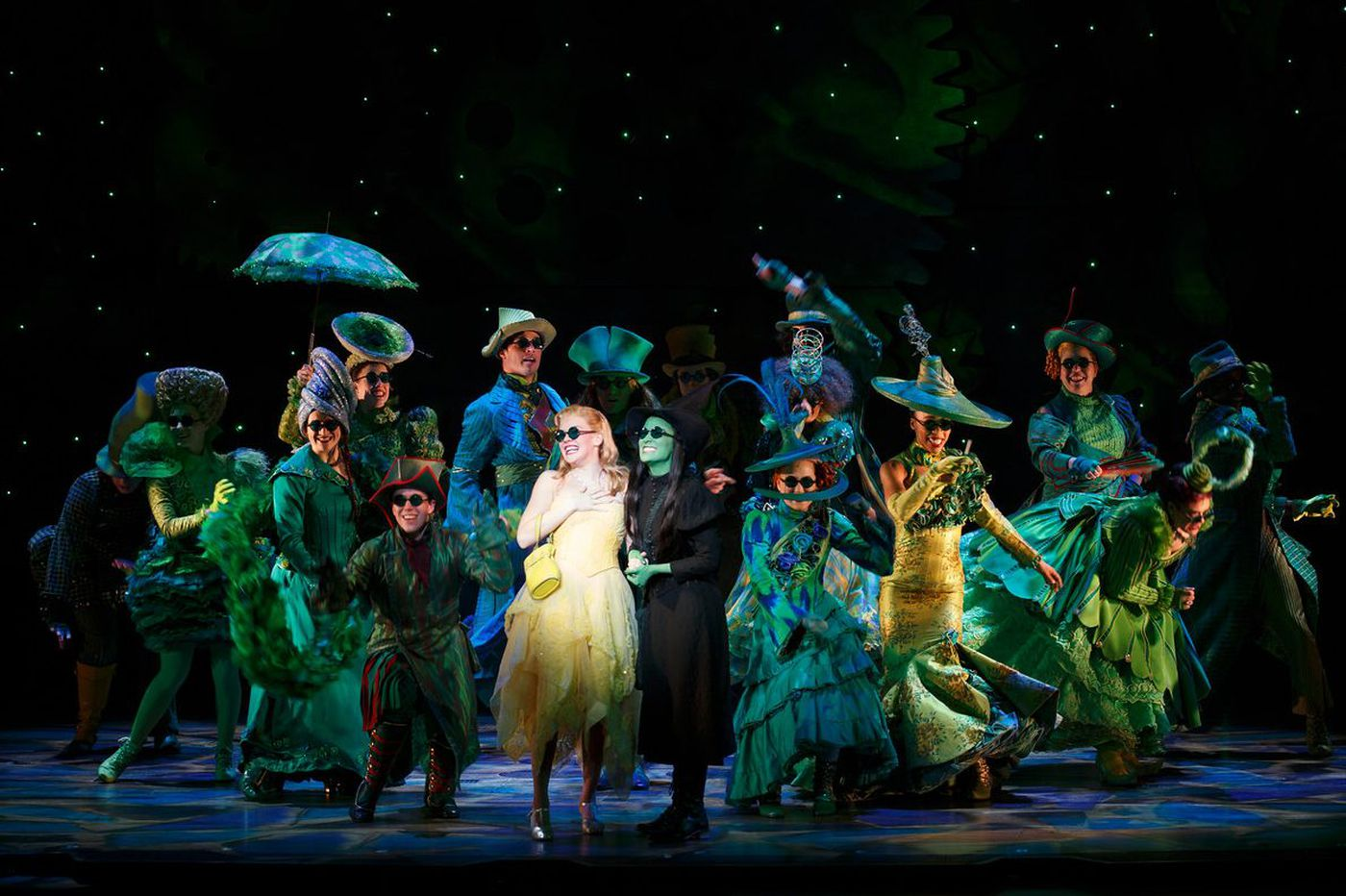 'Wicked': Delicious take on 'The Wizard of Oz' is a fantastic frenzy of song and movement