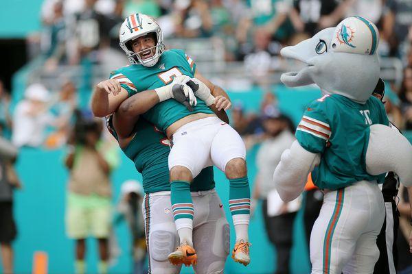Miami Dolphins 37, Philadelphia Eagles 31 — as it happened