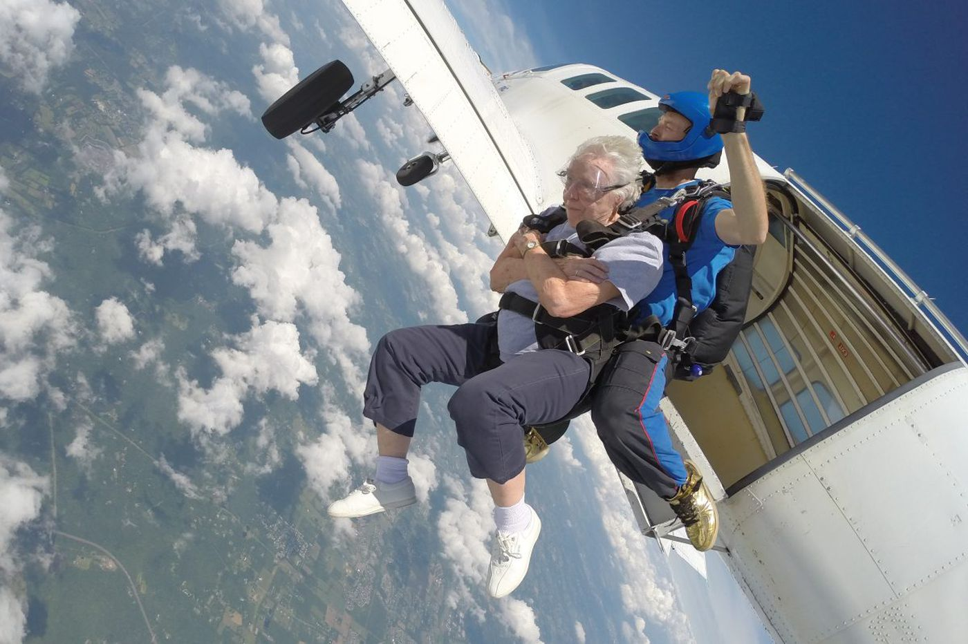 Bucket list? These seniors jumped at skydiving
