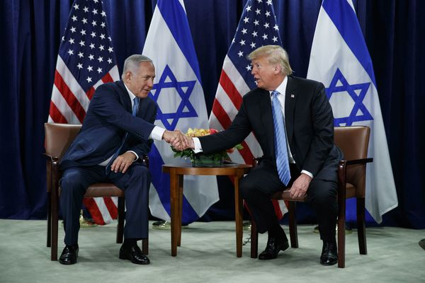 Democrats wrestle over their support for Israel as Trump, Netanyahu move in lockstep