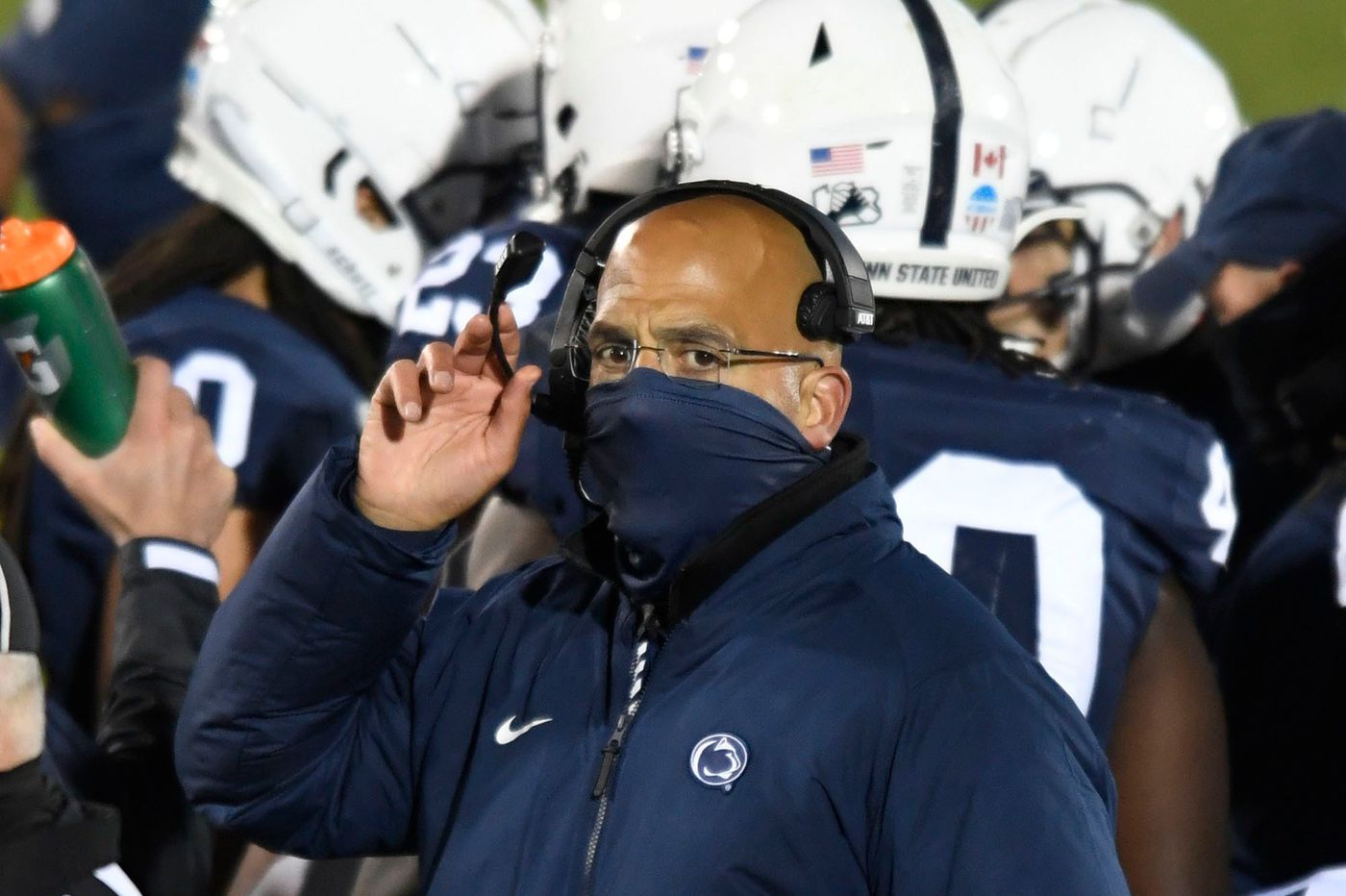 A Big Ten championship and a playoff berth are out of reach, but Penn State players haven't given up on 2020