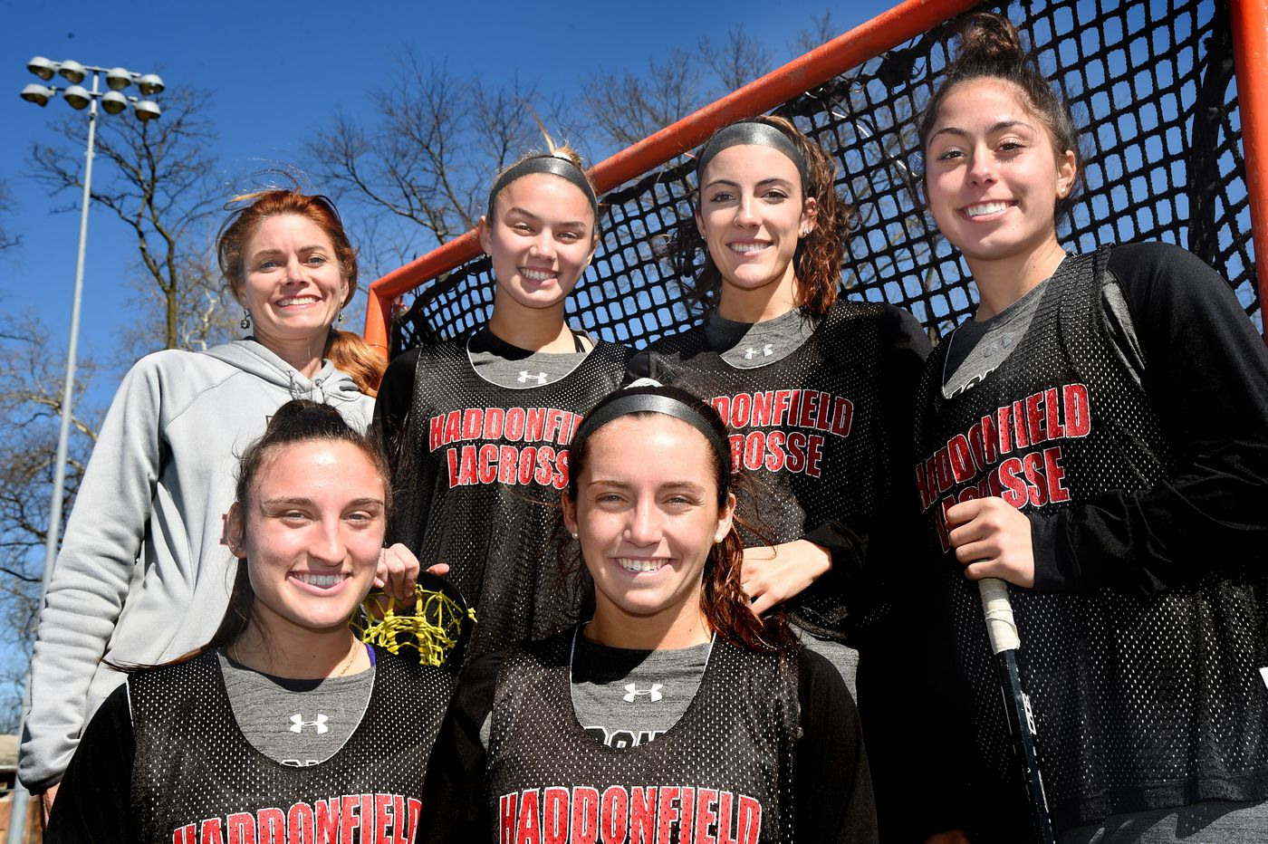 Haddonfield girls' lacrosse team, led by McKenzie Blake, is out for a second straight state championship