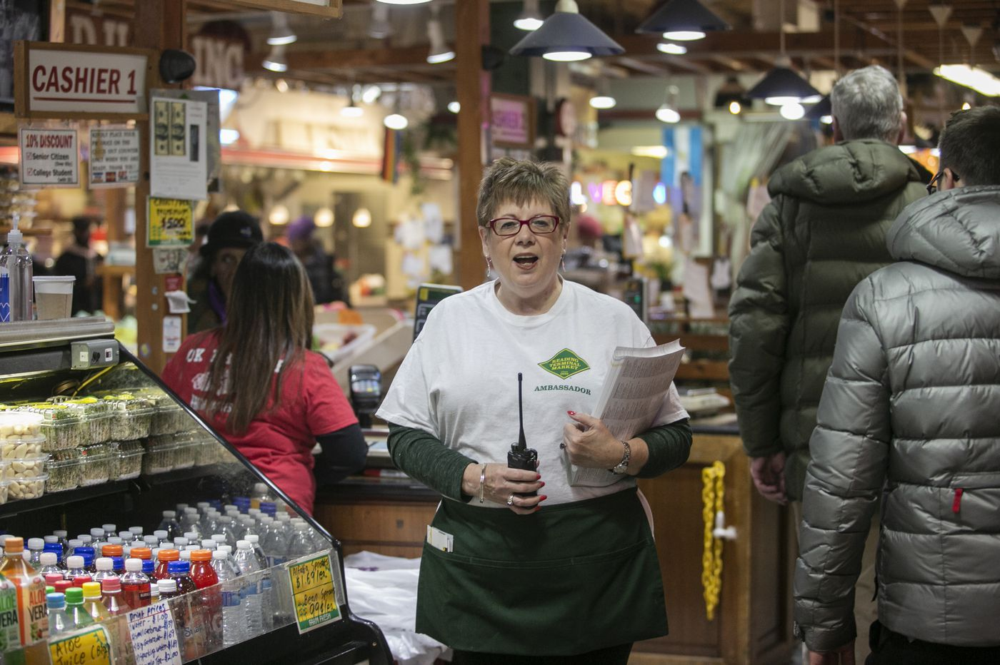 Meet the friendly dynamos who are 'ambassadors' for Philly's Reading Terminal Market