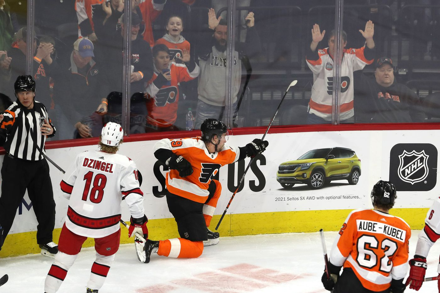 The Flyers' Ivan Provorov has another big night in win over Hurricanes