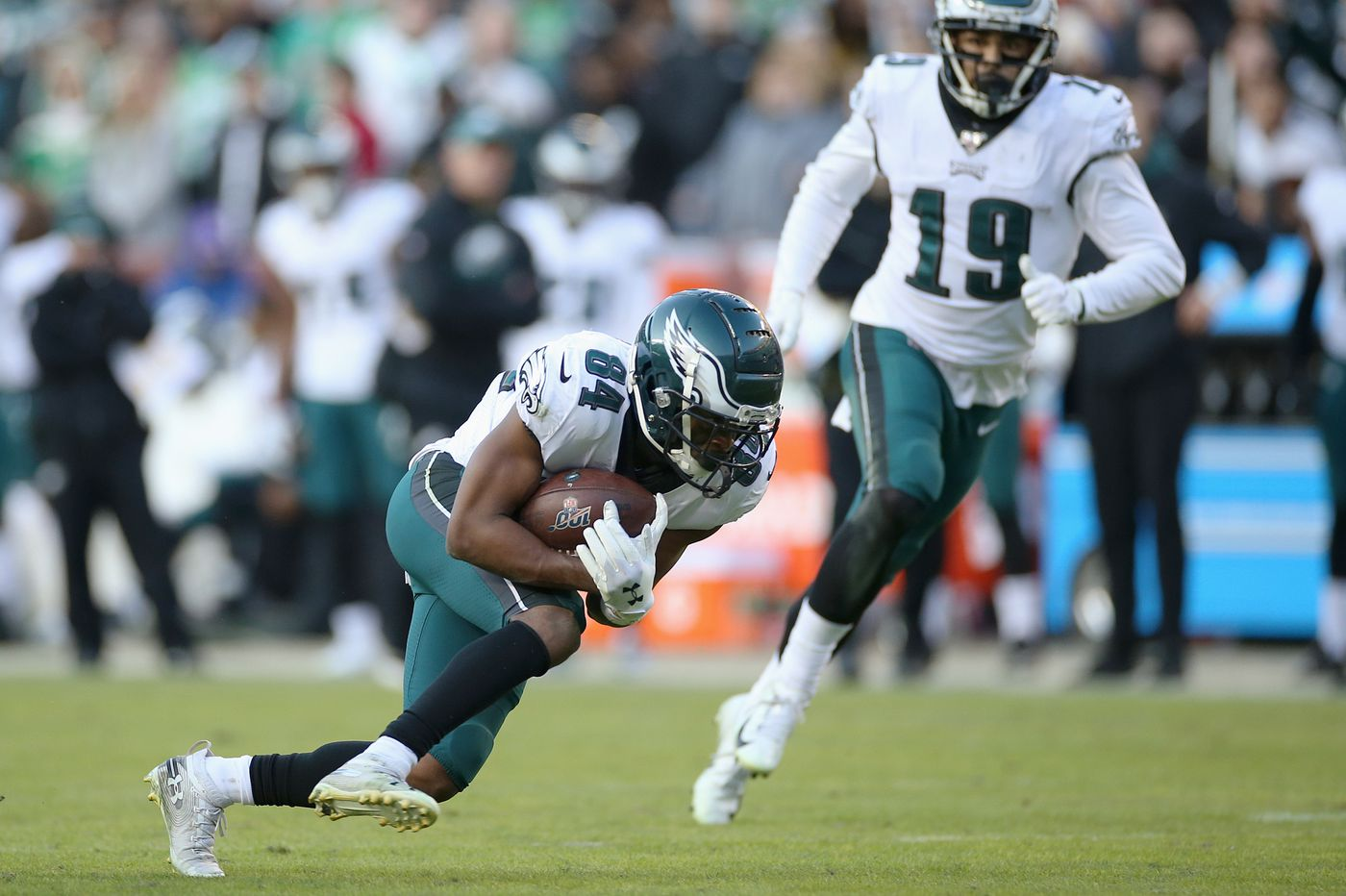 Eagles-Redskins Up-Down Drill: Carson Wentz, Greg Ward, and comeback heroes | Jeff McLane