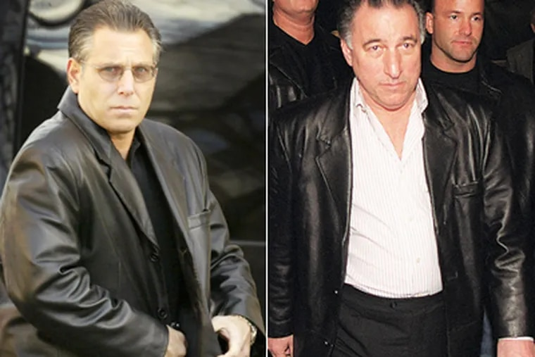 """Anthony Staino (left) was one of 13 reputed mob members and associates, including Joseph """"Uncle Joe"""" Ligambi (right), charged in the racketeering-gambling indictment. (File Photos)"""