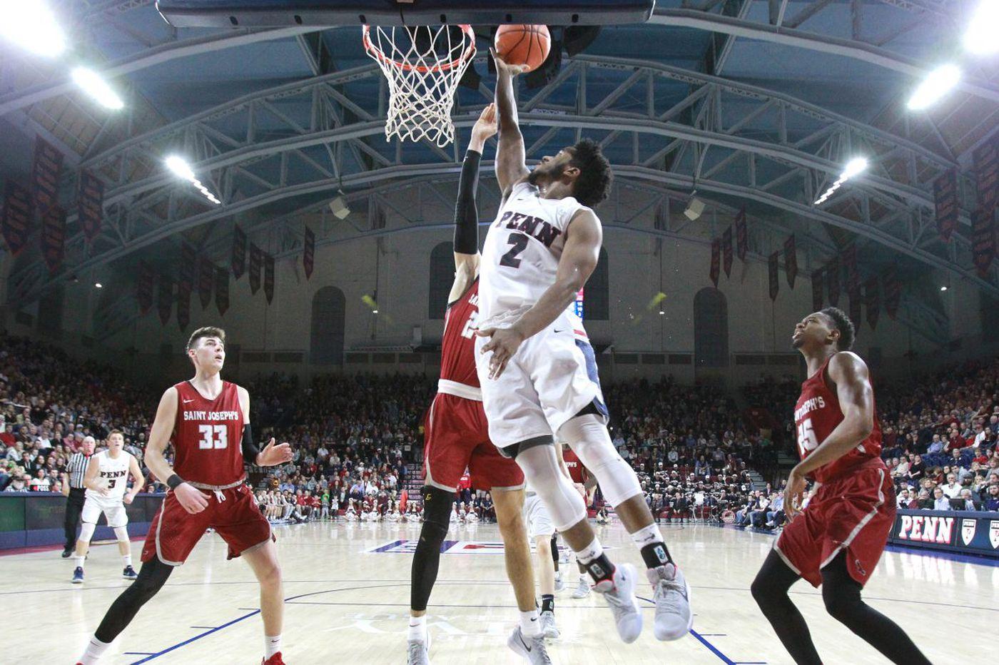 Penn shuts down St. Joseph's for a Big Five win