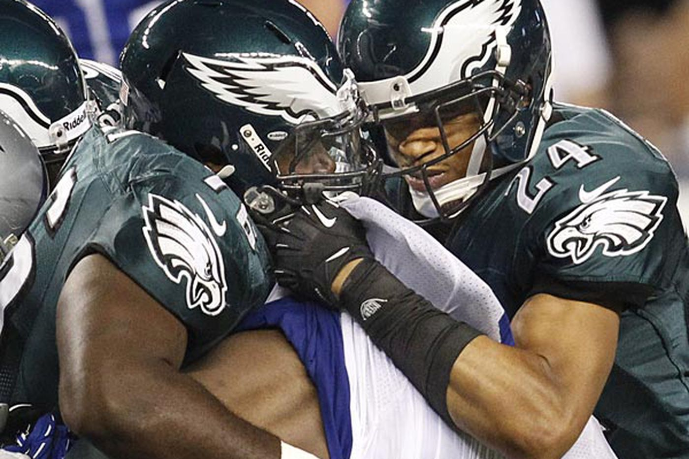 Eagles' defensive backs the toast of the NFL