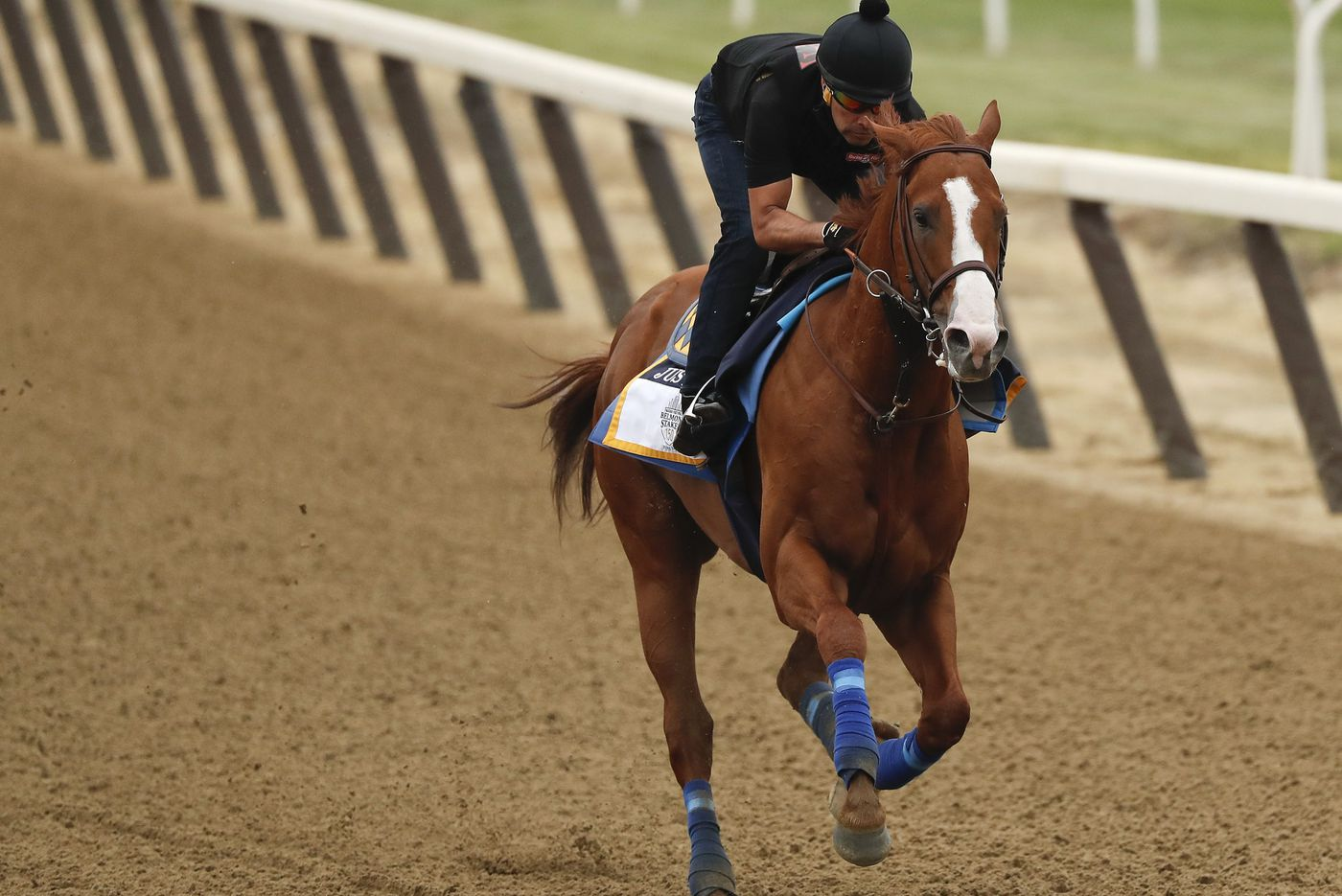 Expect Justify to win the Belmont Stakes, Triple Crown | Dick Jerardi